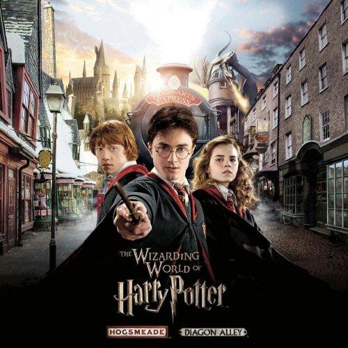 Hogsmeade & Diagon Alley Poster 2014